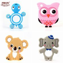 TYRY.HU Baby Teether 1PC Cute Animal Toys Silicone Teether Koala Food Grade BPA