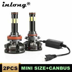 Image 1 - חדש הגעה H4 Led H7 canbus lampada רכב פנס נורות H11 LED HB3 9005 HB4 9006 מנורות 6500K 12V 16000LM אוטומטי Led ערפל אורות