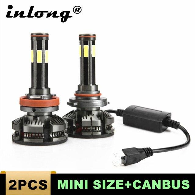 חדש הגעה H4 Led H7 canbus lampada רכב פנס נורות H11 LED HB3 9005 HB4 9006 מנורות 6500K 12V 16000LM אוטומטי Led ערפל אורות