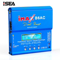 iMAX B6 AC 80W b6ac RC Charger 6A Dual Channel Balance Charger Li ion Nimh Nicd Lipo Battery With Digital LCD Screen Discharger