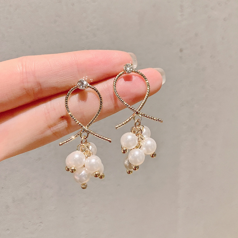 Hbdd271036d4647d3b60670d3a3c11e33b - New Arrival Metal Classic Round Women Dangle Earrings Korean Fashion Circle Geometric Earrings Sweet Small Jewelry