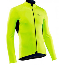 NW 2019 new Long sleeve Cycling Jersey Breathable Bicycle Racing Bicycle Mountain Bike Clothing Maillot Ropa Ciclismo Hombre C26 cheap Yibimotto Polyester Stretch Spandex Full Spring AUTUMN Full Zipper Fits true to size take your normal size Quick Dry