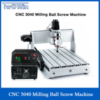 1.5KW Three axis Ball screw CNC Router Four axis Engraver Engraving Milling Drilling Cutting Machine CNC 3040