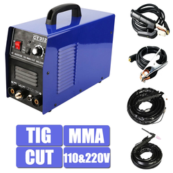 CT312 multifonction 3in1 DC onduleur Machine TIG/MMA/coupe Plasma Cutter soudeuse 220V