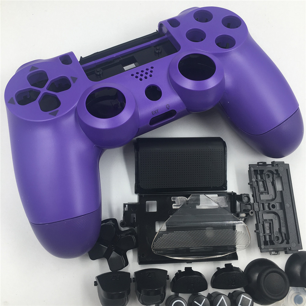 Housing Shell Buttons DIY <font><b>Mod</b></font> Full Kit for Playstation <font><b>PS4</b></font> Slim 4 Controller Gamepad Joystick Button Key Protective Cover <font><b>Case</b></font> image