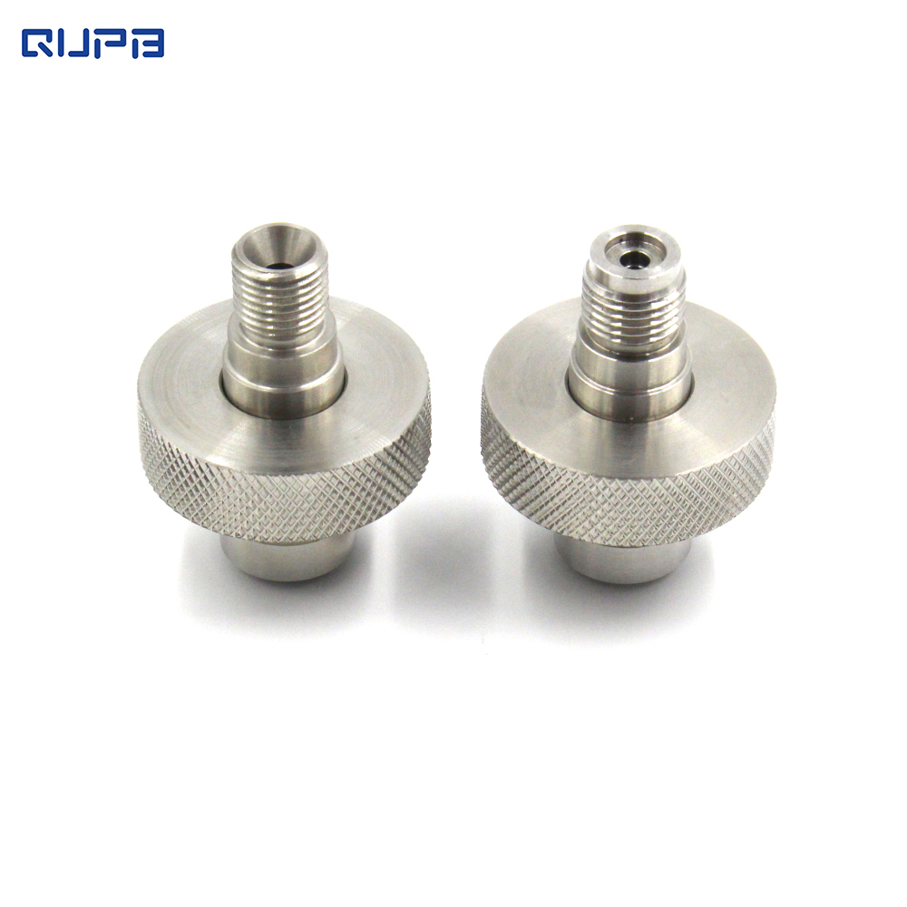 Standard  DIN To Male Pipe Thread Adapter Hand Wheel Plus 1/4bspp Male Stem Or 9/16-18 UNF Male Stem Stainless Steel SMW001