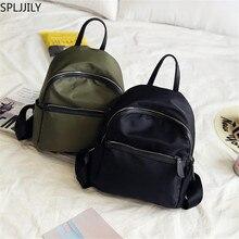 SPLJJILY Fashion Small Women Backpack Nylon Waterproof Casual Daypack Purse for Girls Daily Use