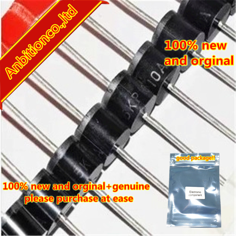 10pcs 100% New Original TVS Tube Transient Suppression Diode 5KP13A 5KP13CA 5000W 13V