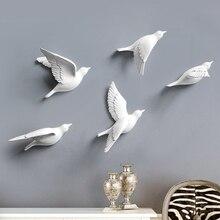 European-Style Three-Dimensional Bird Wall Sticker Wall Decoration Living Room TV Sofa Background Wall Decoration