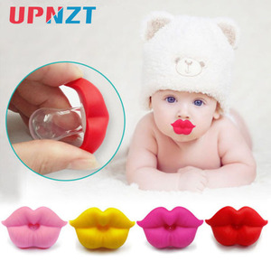 1PC Baby Pacifier Infant Kiss Lip Dummy Pacifier Unisex Funny Silicone Baby Nipple Teether Soother Newborn Baby Dental Care(China)