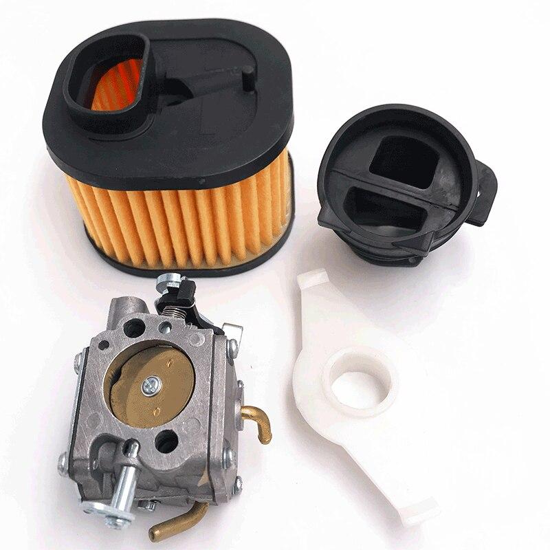 Tools : HUNDURE Manifold Air Filter New Carburetor RWJ-4B Kit For Husqvarna 365X TORQ 372 XP Chainsaw Spare Parts