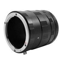 Juego de anillos de Tubo de extensión Macro para Nikon f mount lente de cámara DSLR D7500 D7200 D7100 D7000 D90
