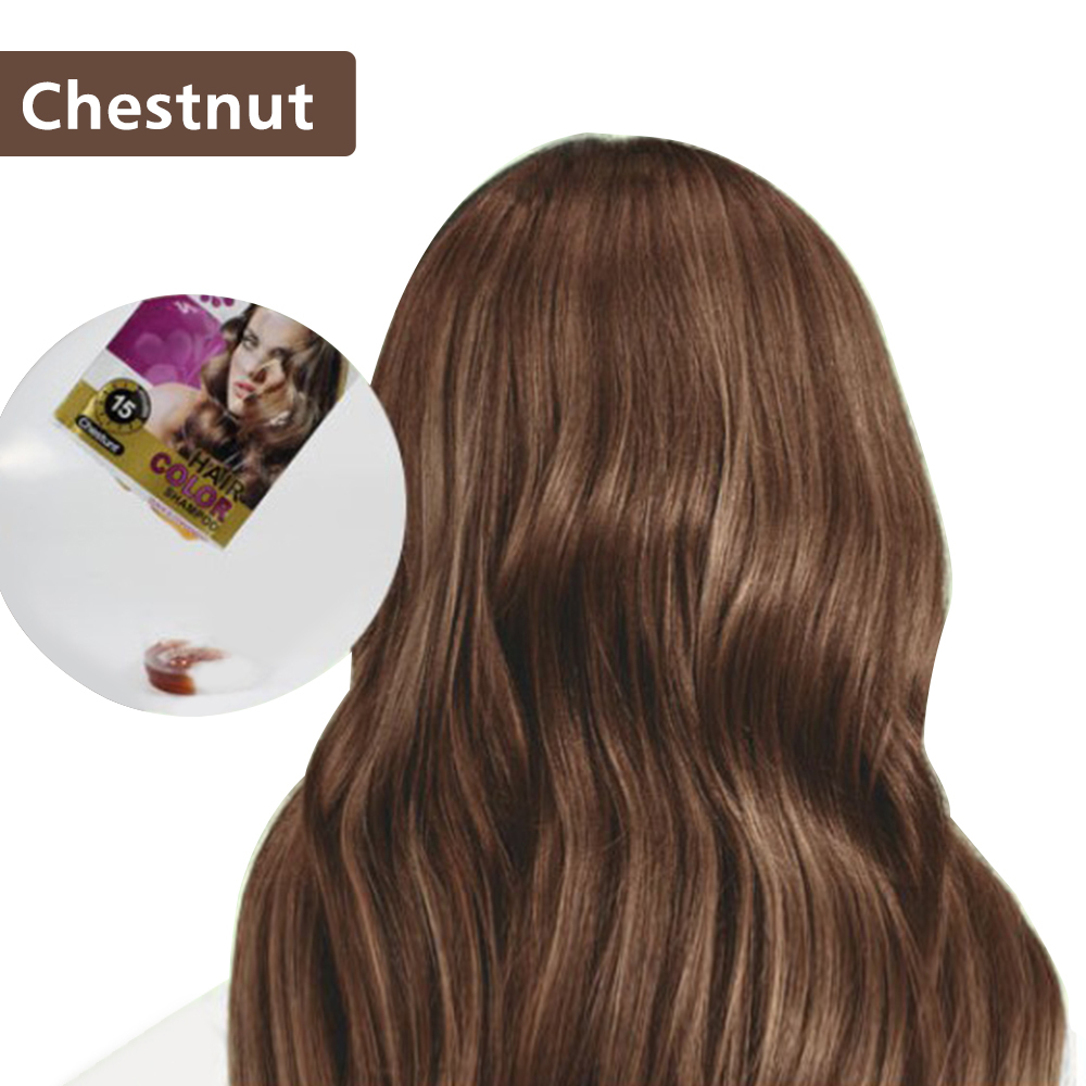 2 шт. краска для волос Шампунь Увлажняющий органический мгновенный цвет волос шампунь краска для волос оливковое масло экстракты инструмен...