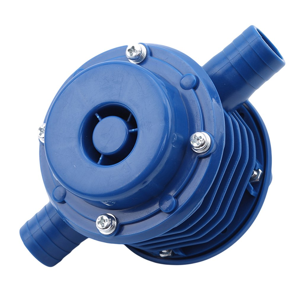 Mini Hand Drill Self-priming Pump Compact Lightweight Prevent Corrosion Power Pump Is Ideal For Electric Drilling Machines 1 Pcs