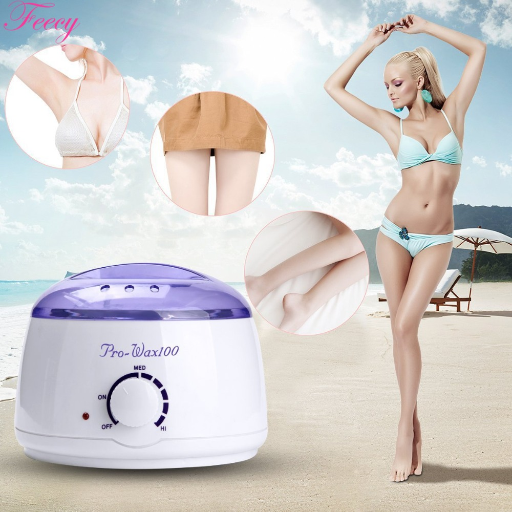 Wax Heater Depilatory Hair Removal Tool Professional Warmer Voskoplav SPA Hand Epilator Paraffin Wax Rechargeable Machine Body