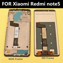цена на FOR Xiaomi Redmi Note 5 Pro LCD Display Touch Screen Digitizer Assembly Replacement For Redmi Note 5 LCD Snapdragon 636