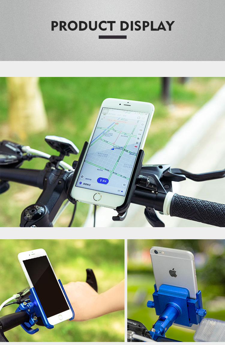 Motorcycle Mobile Phone Holder Suitable for Bicycles/Motorcycles/Electric Vehicles/Scooters 18