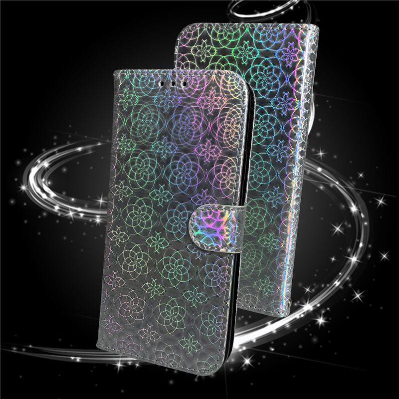 Gradient Colorful PU Leather Case for iPhone 11/11 Pro/11 Pro Max 58