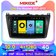 MEKEDE 4G RAM Car Dvd Multimedia System for Mazda 6 Rui Wing 2007 2008 2009 2010 2011 2012 GPS 2Din Navi with BT WIFI DSP 4G SIM