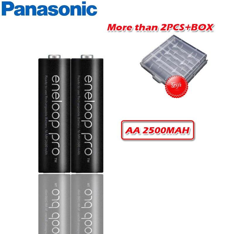 Panasonic 1,2 V 2500mAh Ni-MH AA Аккумуляторная батарея для фонарика камеры игрушка пульт дистанционного управления заряженный аккумулятор высокой емкости