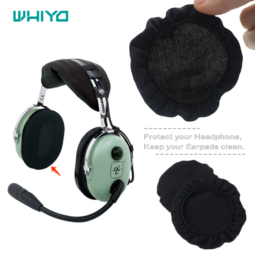 WHIYO Replacemen Soft Stretch Earpads Sweat Absorption Washable Germproof Deodorizing For David Clark H10 - 60 20 76 30 40 13.4