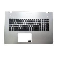 Клавиатура для ноутбука OVY SP для AUSU N76 N76VB N76VJ N76VM N76VZ C Упор для рук P/N: 0KN0-M31SP13 0KNB0-6120SP00 9Z. N8BSU. 10S