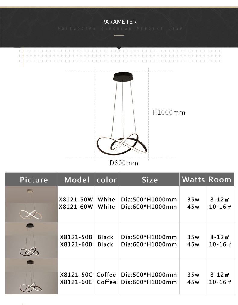 Creative led pendant lights Nordic lamp hanging lights For Livingroom Dining bed room Lights lustre led moderno lights Fixture