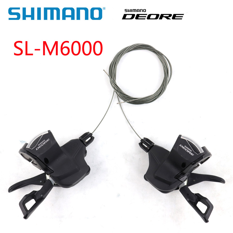 Pair Shimano Deore SL-M6000 3x10 Speed Left+Right Shifter Lever Mountain Bike