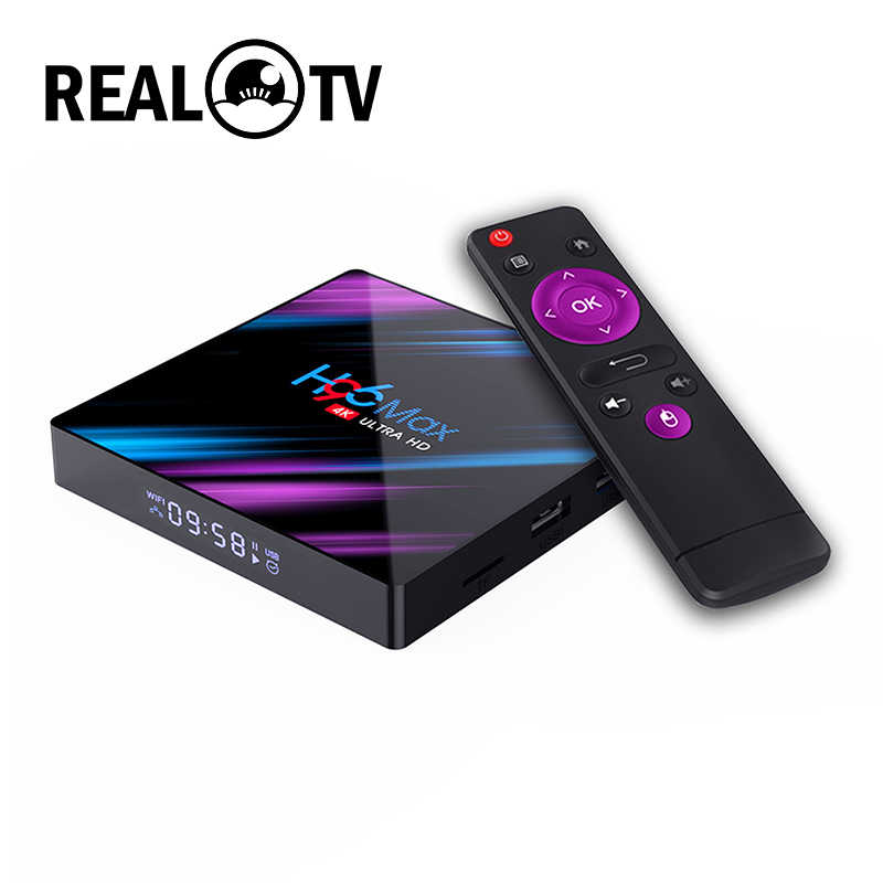 TV Nyata H96 MAX RK3318 Smart TV Box Android 10.0 2GB 16GB Media Player 4K Google Netflix h96MAX TVBOX