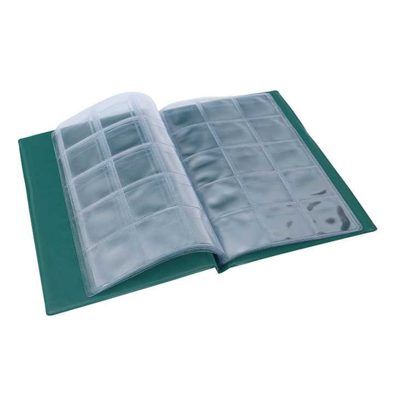 150 Sheets Wallet 4 Colors Coin Album Portable Album Coin Penny Money Storage Book Case Holder File Collection Collectin