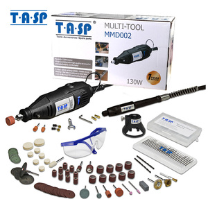 Image 1 - TASP 220V 130W Electric Mini Drill Set Rotary Tool Kit Variable Speed Engraver  with 140pcs Accessories & Attachments