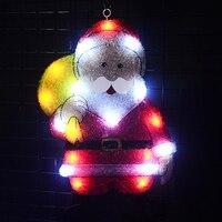Comparar Toprex 2D navidad santa Claus navidad decoración exterior led luces de fiesta de navidad decoraciones para