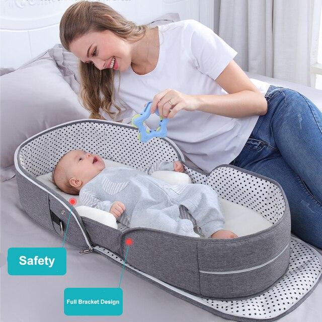 Portable Sleeping Bed Crib 2