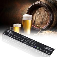 5 шт., термометр для пивоварения, клейкий домашний ЖК-термометр, стикер, датчик температуры вина, Reade