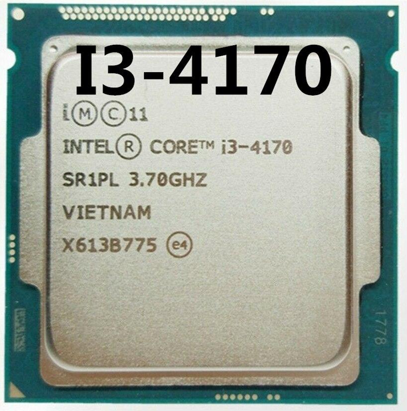 Intel Core Processor I3 4170 I3-4170 LGA1150 22 Nanometers Dual-Core PC Computer Desktop CPU 100% Working Properly