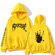 2019 Xxxtentacion Revenge Hoodies Men/Women Sweatshirts Rapper Hip Hop Hooded Pullover sweatershirts male/Women Streetwear