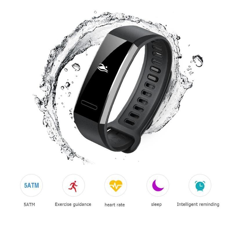 Bracelet intelligent Huawei Band 2 Pro Sport B29 Bracelet GPS écran pmolé 5ATM étanche natation PPG fréquence cardiaque Tracker de Fitness