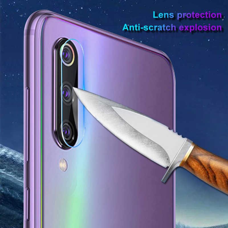 Kamera Len Film untuk Xiaomi Mi A3 CC9 CC9E 9X Pro Mi 9 9T PRO Se Mi9T Mi9X Kamera lensa Layar Pelindung Lembut Kaca Tempered Glass