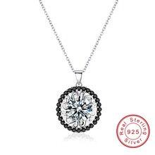 SODROV, романтические цветы, 925 пробы, серебряные ювелирные изделия, модные ожерелья и подвески для помолвки для женщин, P113