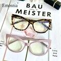 Стильная оправа для очков в стиле кошачьи глаза антибликовыми свойствами светильник фильтром очки 2020 оптический зрелище моды компьютерных...