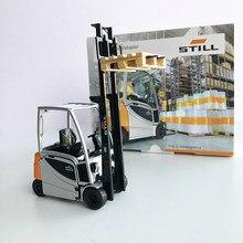 Simulação liga 1:25 escala ainda RX20-20 empilhadeira modelo de caminhão carro metal empilhador veículo de engenharia para coleção estática cena