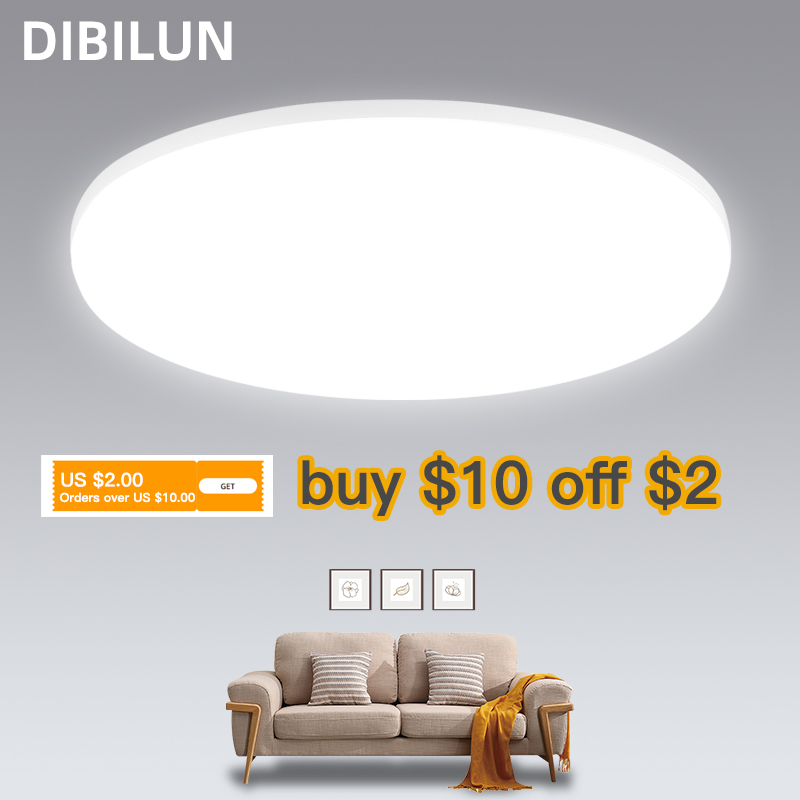 LED Panel Light 15W 20W 30W 50W Round Downlight 220v LED Surface Ceiling Lights Modern Ceiling Lamp For Kitchen Lighting
