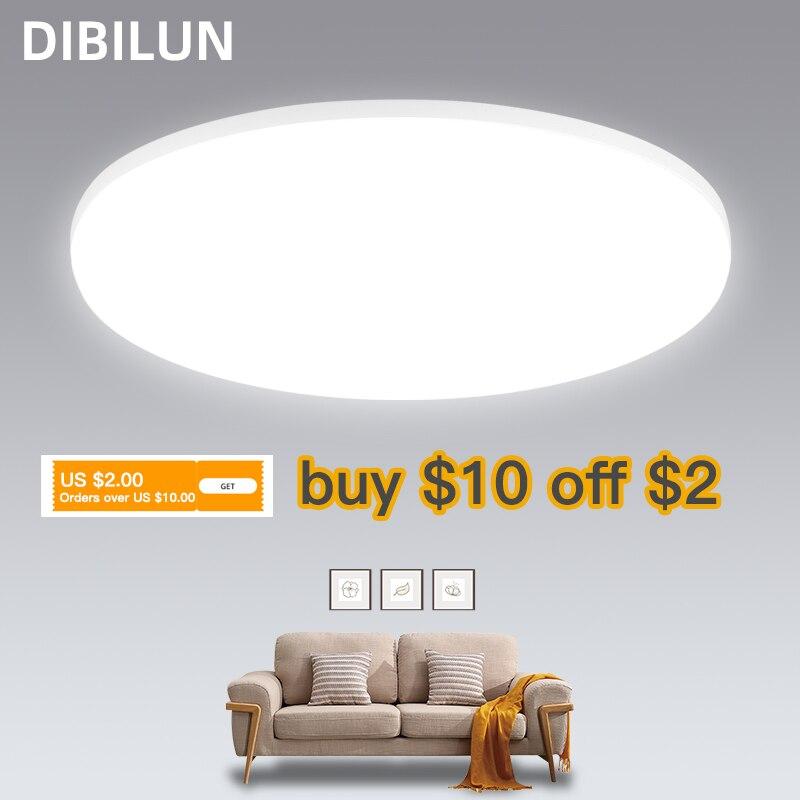 LED Panel Light 15W 20W 30W 50W Round Downlight 220v LED Surface Ceiling Lights Modern Ceiling Lamp For Kitchen Lighting
