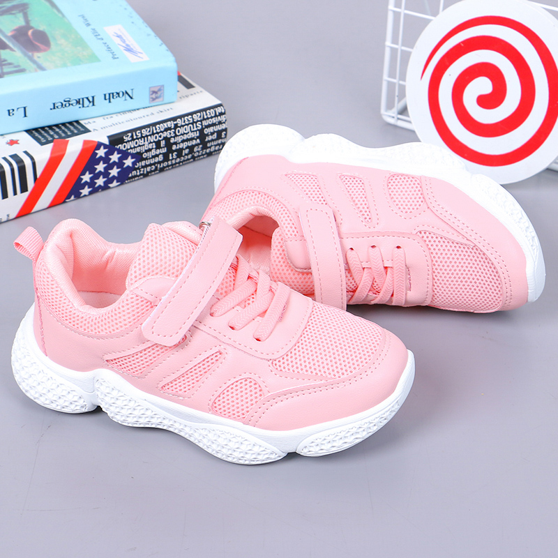 Shoes Boys Kids Mesh Sneakers Girls Breathable Children Sport Shoes Girls Outdoor Running Shoes Casual Footwear SSJ040