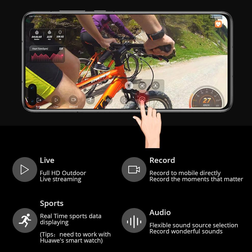 Drift Ghost 4k+ Plus HD Motorcycle Bicycle Bike Body Worn Helmet Sport Cam with Wifi App Control 1950mAh Battery Action Camera 3