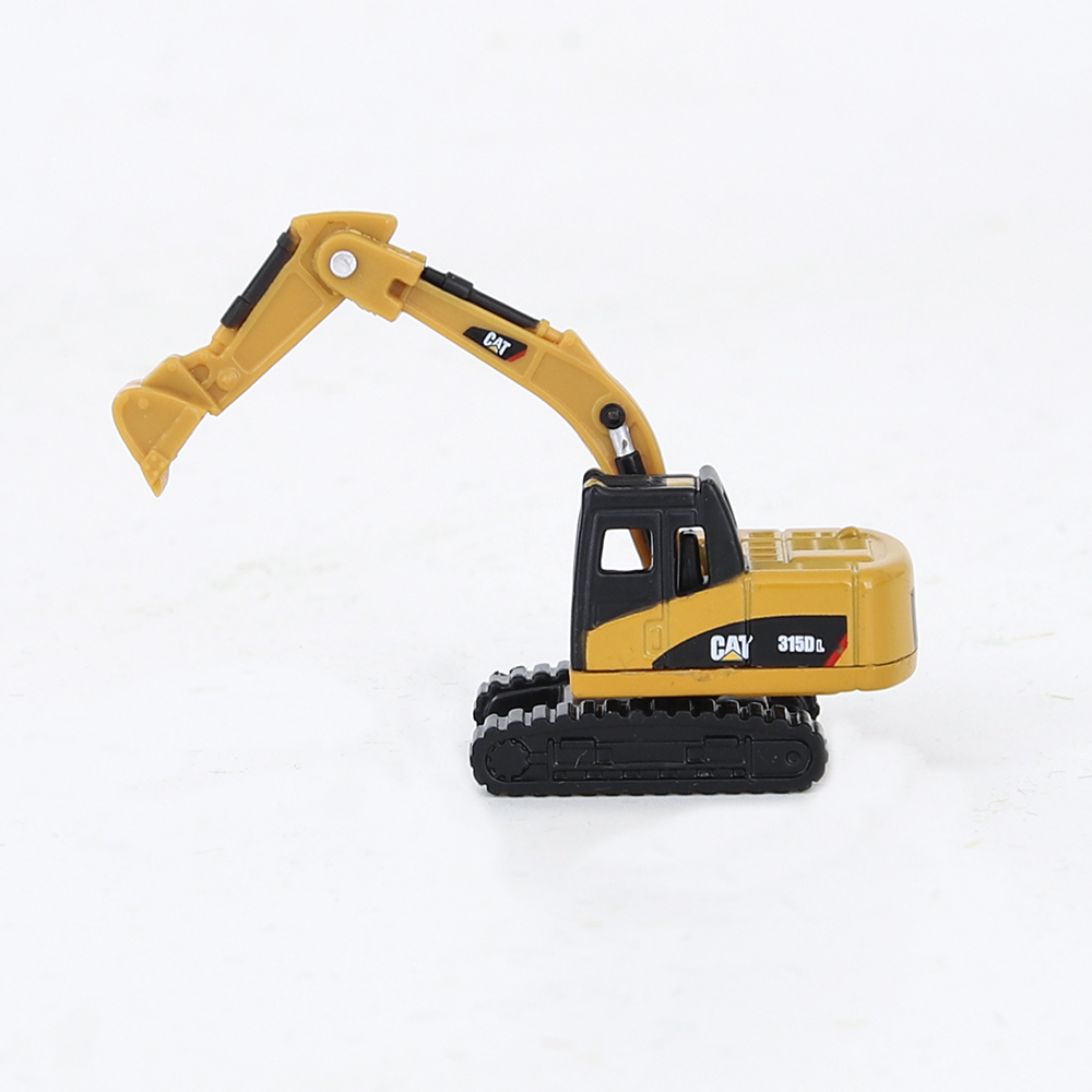 1:160 N Scale Model Toy Excavator Abs Building Road Landscape Sand Table Layout Mini Car Simulation Engineering Gifts Collection