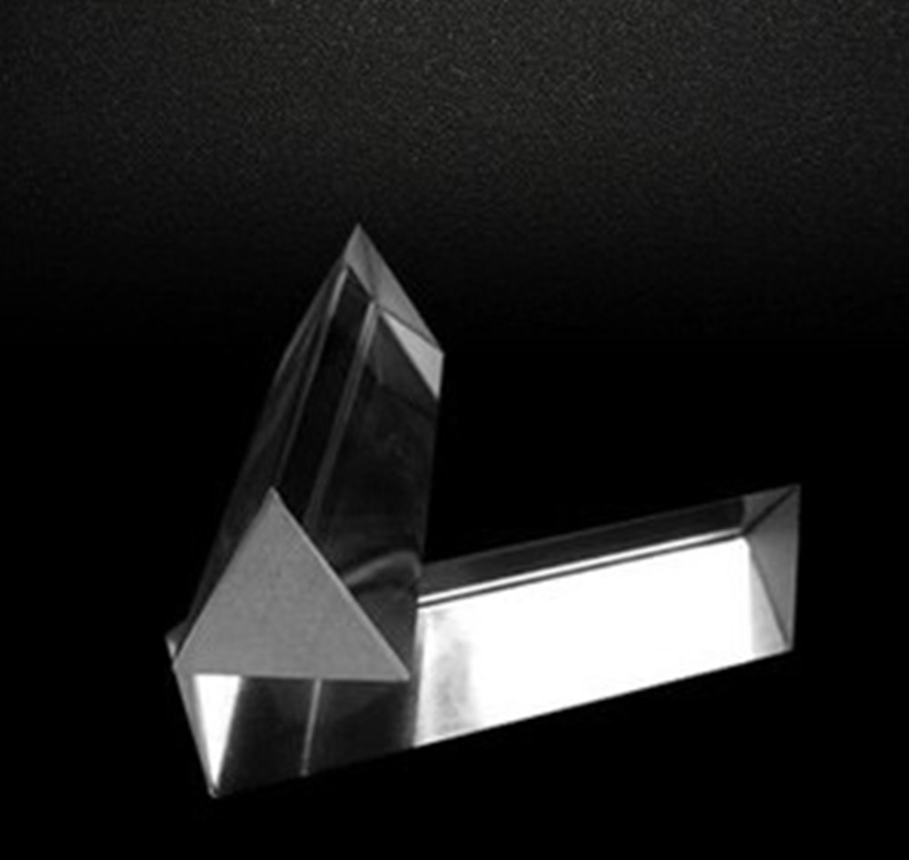 Crystal Triangle Quartz Optical Glass Equilateral Prism 20mm