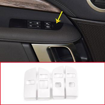 High configuration ABS Car Interior Child Lock Button Trim For Land Rover DIscovery 5 LR5 2019 LHD Year Accessories