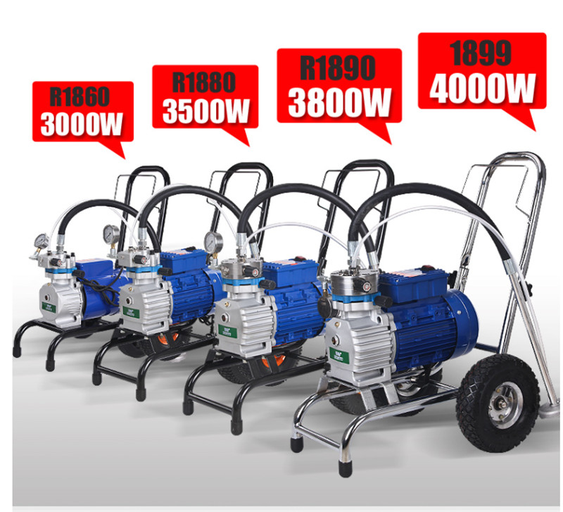 3000W/4000W/4800W High-pressure Airless Spraying Machine Professional Airless Spray Gun Painting Machine Tool Single/double Gun