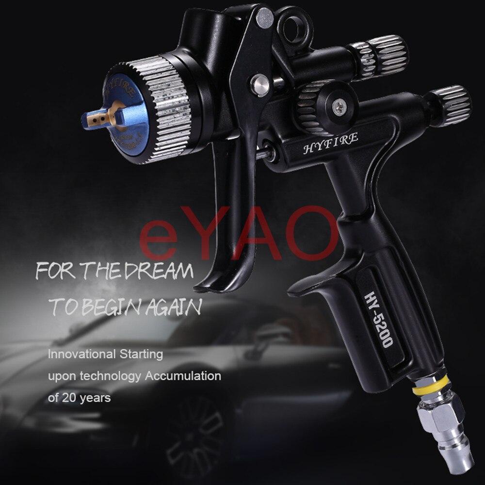 Ограниченная серия 5200 HVLP титановый Электролитный электрод со случайно выбранным PHASER пистолет-распылитель-1,3 Ноуз 600 мл чашка для автомобиля...